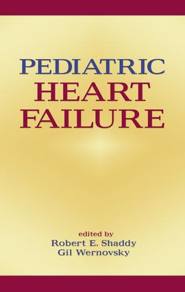 Pediatric Heart Failure: 1st Edition (Hardback) book cover