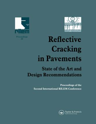 Reflective Cracking in Pavements