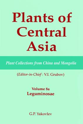 Plants of Central Asia - Plant Collection from China and Mongolia, Vol. 8a