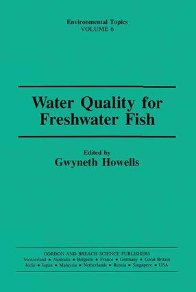 Water Qual Freshwater Fish: 1st Edition (e-Book) book cover