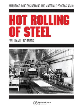Hot Rolling of Steel: 1st Edition (e-Book) book cover