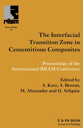 Interfacial Transition Zone in Cementitious Composites: 1st Edition (e-Book) book cover