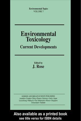 Environmental Toxicology: 1st Edition (Hardback) book cover