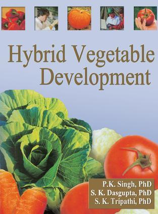 Hybrid Vegetable Development: 1st Edition (Paperback) book cover
