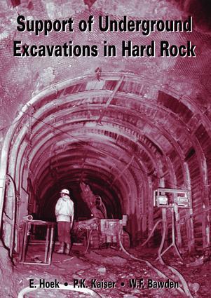 Support of Underground Excavations in Hard Rock