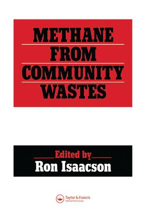 Methane from Community Wastes: 1st Edition (Hardback) book cover