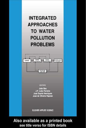 Integrated Approaches to Water Pollution Problems: 1st Edition (Hardback) book cover