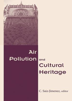 Air Pollution and Cultural Heritage: 1st Edition (e-Book) book cover