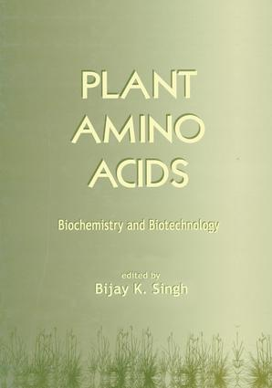 Plant Amino Acids: Biochemistry and Biotechnology, 1st Edition (Hardback) book cover