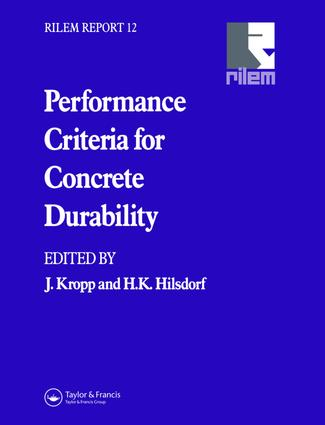 Performance Criteria for Concrete Durability