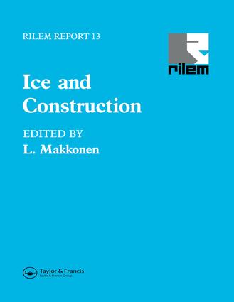 Ice and Construction book cover