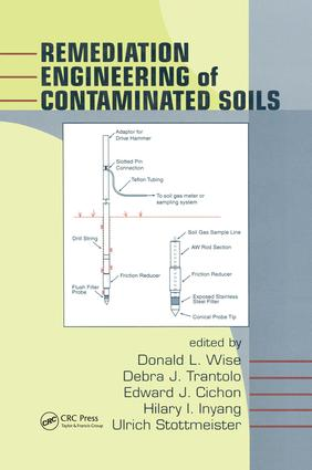 Remediation Engineering of Contaminated Soils book cover