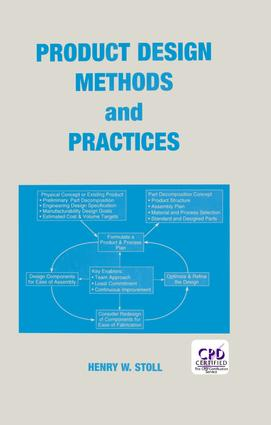 Product Design Methods and Practices: 1st Edition (Hardback) book cover