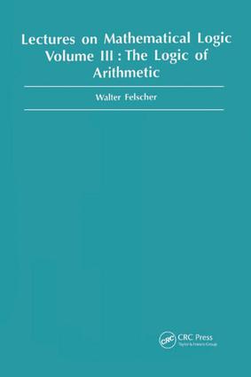 Logic of Arithmetic: 1st Edition (e-Book) book cover