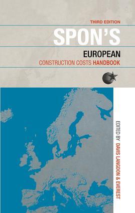 Spon's European Construction Costs Handbook