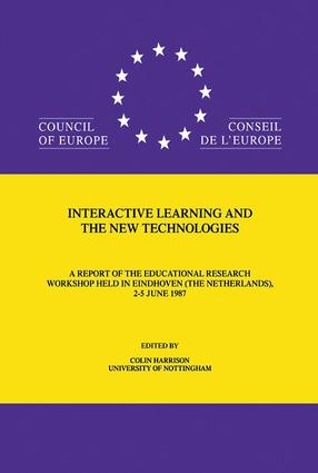 Interactive Learning & The New: 1st Edition (Hardback) book cover
