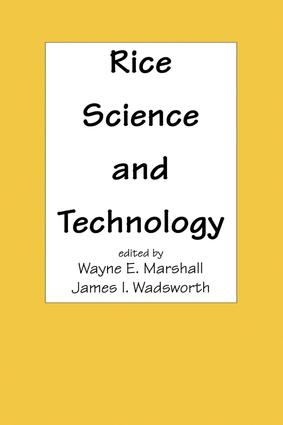 Rice Science and Technology: 1st Edition (Hardback) book cover