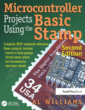 Microcontroller Projects Using the Basic Stamp: 2nd Edition (e-Book) book cover