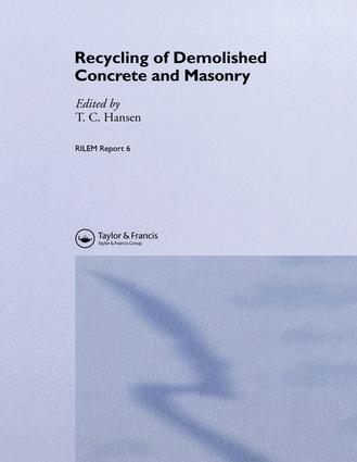 Economic aspects of concrete recycling