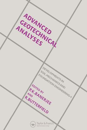 Advanced Geotechnical Analyses