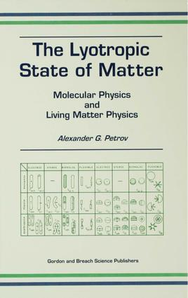 The Lyotropic State of Matter