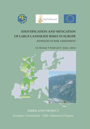 Identification and Mitigation of Large Landslide Risks in Europe