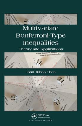Multivariate Bonferroni-Type Inequalities: Theory and Applications, 1st Edition (e-Book) book cover