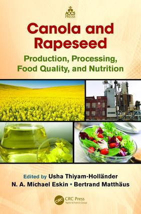 Canola and Rapeseed: Production, Processing, Food Quality, and Nutrition, 1st Edition (e-Book) book cover