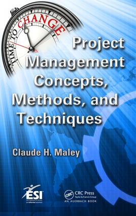 Project Management Concepts, Methods, and Techniques: 1st Edition (e-Book) book cover