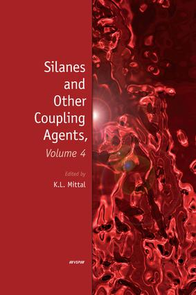 Silanes and Other Coupling Agents, Volume 4: 1st Edition (e-Book) book cover