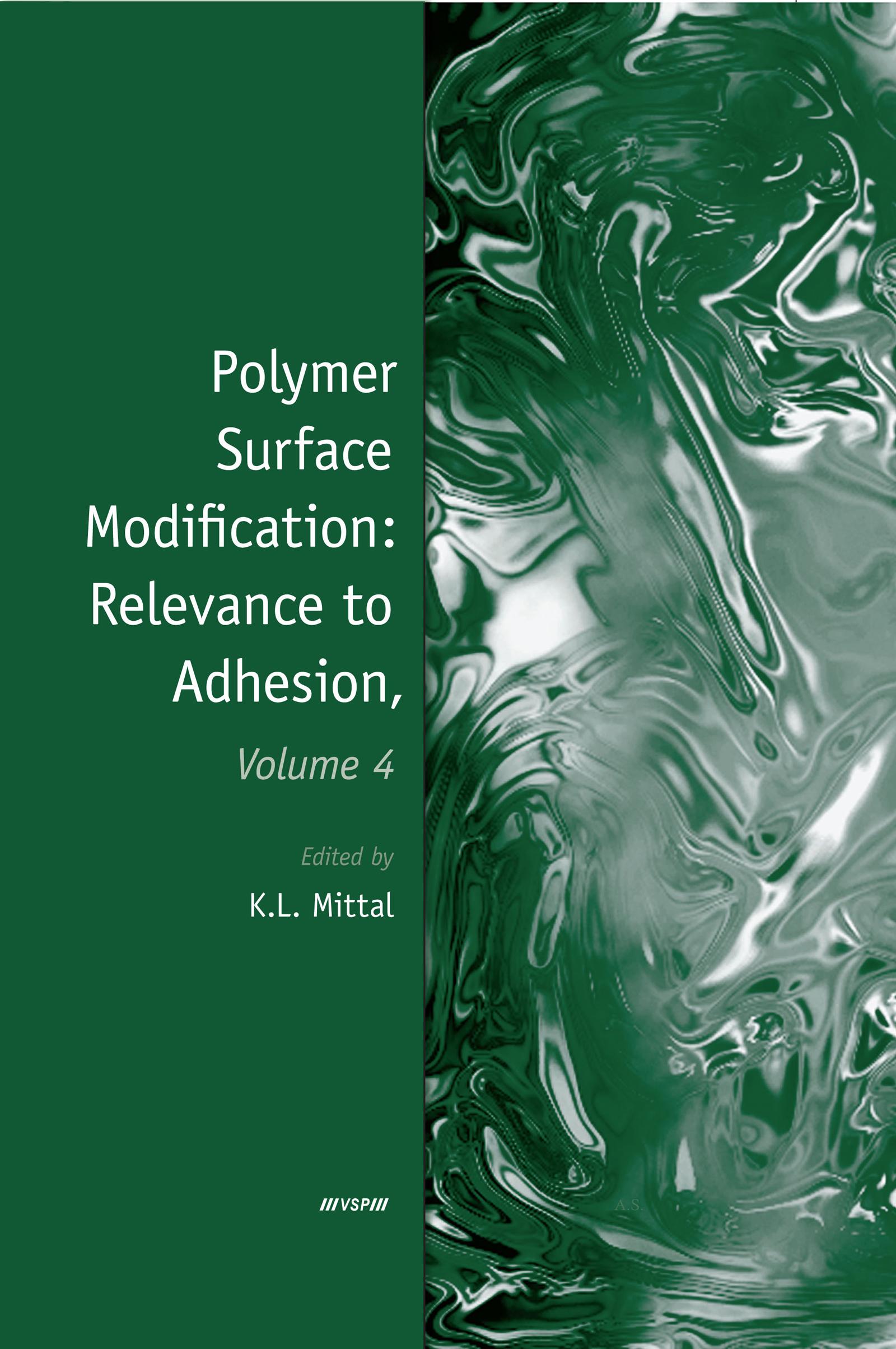 Improvement of adhesion between poly(tetrafluoroethylene) and poly(ethylene terephthalate) films