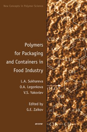 Polymers for Packaging and Containers in Food Industry: 1st Edition (e-Book) book cover