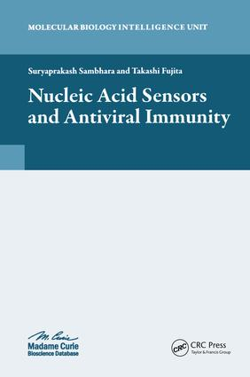 Nucleic Acid Sensors and Antiviral Immunity: 1st Edition (Hardback) book cover