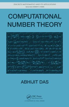 Computational Number Theory: 1st Edition (e-Book) book cover