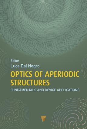 Optics of Aperiodic Structures: Fundamentals and Device Applications, 1st Edition (e-Book) book cover