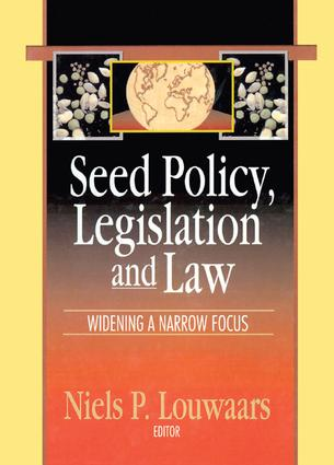 SEED LEGISLATION AND COUNTRY CASES