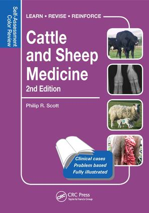 Cattle and Sheep Medicine: Self-Assessment Color Review, 2nd Edition (e-Book) book cover
