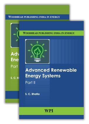 Advanced Renewable Energy Systems, (Part 1 and 2): 1st Edition (e-Book) book cover