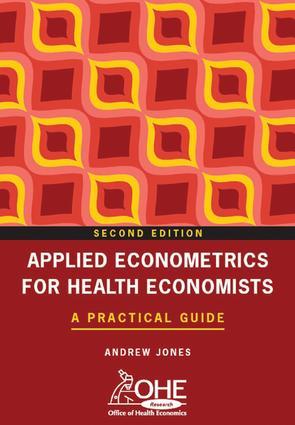 Applied Econometrics for Health Economists