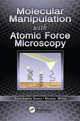 Molecular Manipulation with Atomic Force Microscopy: 1st Edition (e-Book) book cover