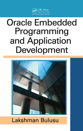 Oracle Embedded Programming and Application Development: 1st Edition (e-Book) book cover