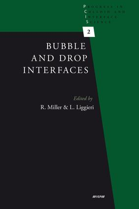 Bubble and Drop Interfaces: 1st Edition (e-Book) book cover