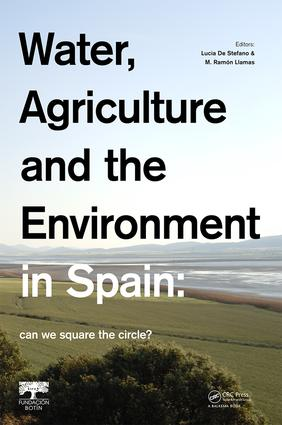 Water, Agriculture and the Environment in Spain: can we square the circle?: 1st Edition (e-Book) book cover