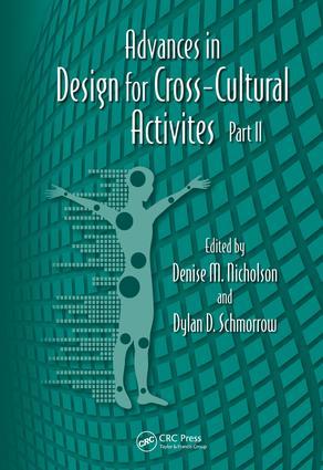 Advances in Design for Cross-Cultural Activities Part II