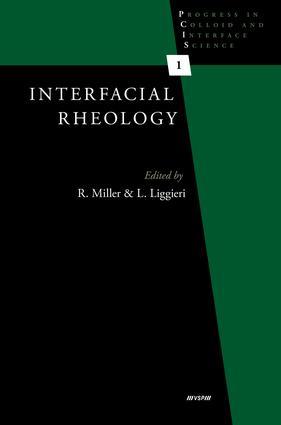 Interfacial Rheology: 1st Edition (Hardback) book cover