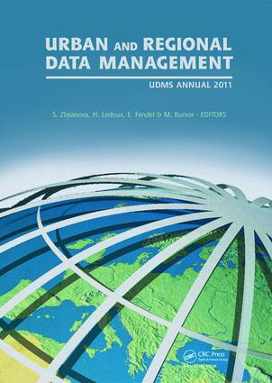 Urban and Regional Data Management: UDMS Annual 2011 book cover