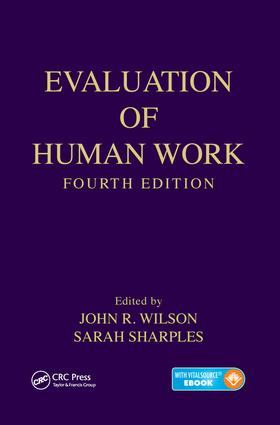 Evaluation of Human Work: 4th Edition (e-Book) book cover