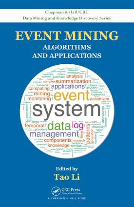 Event Mining: Algorithms and Applications, 1st Edition (e-Book) book cover