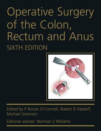 Operative Surgery of the Colon, Rectum and Anus: 6th Edition (e-Book) book cover