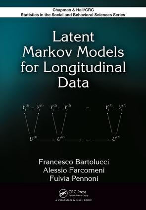 Latent Markov Models for Longitudinal Data: 1st Edition (e-Book) book cover